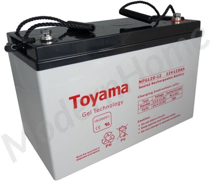 npg 12v 120ah gel battery batteries toyama gel. Black Bedroom Furniture Sets. Home Design Ideas