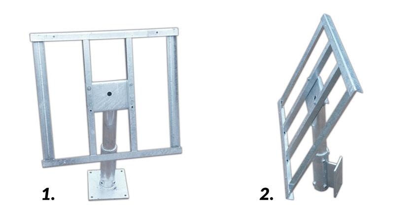 System montażowy do paneli 160W